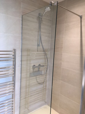Shower and Radiator